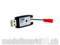 E-Flite Ladegerät 1S USB Li-Po 500mA JST-Buchse