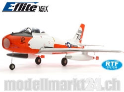 E-Flite FJ-2 Fury Spw.933mm BNF, Impeller-Jet