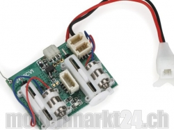 Spektrum AR6410 6-Kanal Ultra-Micro DSMX Empfänger/Regler/..