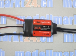 Favourite 30A Brushless ESC mit Linear-BEC 5V/2A Sky-Series