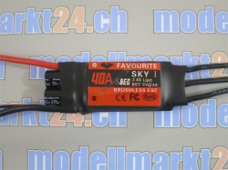 Favourite 40A Brushless ESC mit Switch-BEC 5V/3A Sky-Series