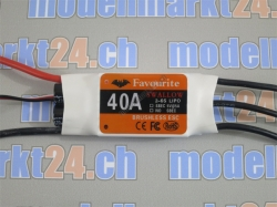 Favourite 40A Brushless ESC mit Switch-BEC 5V/5A Swallow-S..
