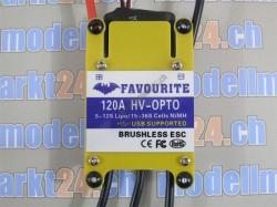Favourite 120A HV Opto Brushless ESC Swallow-Series