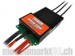 Jeti Spin 200 Pro opto BL Controller für Heli- und Flächen..