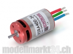 Kontronik Kira 400-34 Innenläufer Brushless Motor