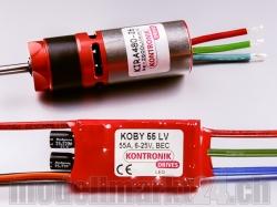 Kontronik Drive 410 (KIRA 480-26 5.2:1 / KOBY 40 LV)