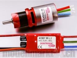 Kontronik DRIVE 550 (KIRA 500-26 6,7:1 / KOBY 55 LV)