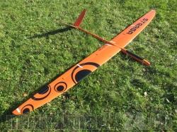 PnP RCRCM E-Strega Spw. 2,9m CFK+ Orange/Schwarz, fertig g..