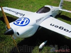AeroPlusRC Edge 540 V3 35CC blau/weiss (VW Design)