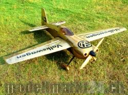 "AeroPlusRC Edge 540 V3 EX 76"" El.Version gold Volkswagen-D.."