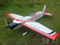 AeroPlusRC EXTRA 330SC 60CC Spw. 2,36m schwarz/rot/weiss