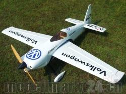 AeroPlusRC Edge 540 V3 20CC Spw. 1,7m VW-Design weiss/blau..