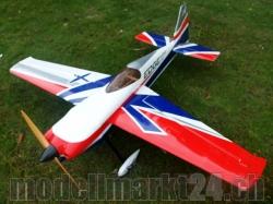 AeroPlusRC Edge 540 V3 20CC Spw. 1,7m weiss/rot/blau