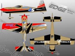 "Folien-Design AeroPlus Edge 540 V3 EX 76"""