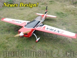 AeroPlusRC EXTRA 330SC 60CC Spw. 2,36m, neues Design, schw..