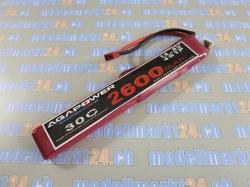 AGA-Power LiPo-Akku 2200mAh 14,8V 30C 4S2P Spezialform