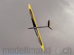 RCRCM Tornado F3F CFK Spw.2'914mm Schwarz/Gelb +, RC Modellflugzeug