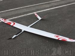 PnP RCRCM E-Strega Spw. 2,9m GFK Weiss/Rot