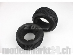 ZDRacing 8067 Reifen und Einlagen zu Buggy 1:8 2Stk.