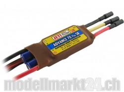 Jeti Advance Pro 70A SB HS BL Controller 6-16 NiXX / 2-6 L..