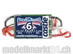 Castle Thunderbird-6A 3S Brushless ESC mit BEC