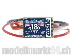 Castle Thunderbird-18A 3S Brushless ESC mit BEC