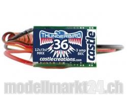 Castle Thunderbird-36A 3S Brushless ESC mit BEC
