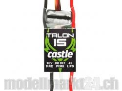 Castle Talon 15 16V 15A 4S Brushless ESC mit 8A BEC