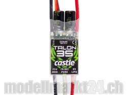 Castle Talon 35 25V 35A 6S Brushless ESC mit 7A BEC