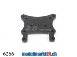 ZDRacing 6266 Vordere Dämpferplatte