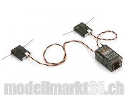 Spektrum AR9020 9-Kanal DSMX/X-Plus Empfänger aus Grosspac..
