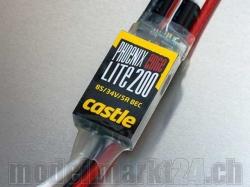 Castle Phoenix Edge LITE 200A 8S Brushless ESC mit BEC