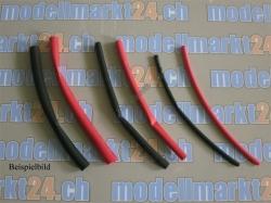 Schrumpfschlauch Durchmesser=1mm L=0.5m Rot