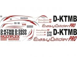 Multiplex Dekorbogen EasyGlider Pro (Rot)
