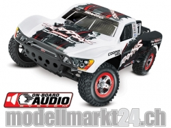 "Traxxas SLASH Racing Edition (Weiss) ""On-Board Audio"" 2WD .."
