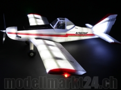 E-Flite Pawnee Brave Night Flyer Spw.1'217mm BNF AS3X-Tech..