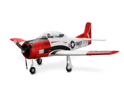 E-Flite T-28 Trojan Spw.1'225mm BNF mit AS3X in Top-Aussta..