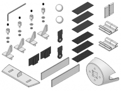 Multiplex Kleinteilesatz EasyGlider Pro