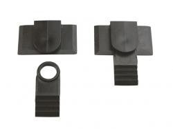 Multiplex Verschlussklammern und -Zapfen, je 2Stk.