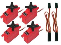 Servoset mit Verlängerungskabel TwinStar BL von Multiplex