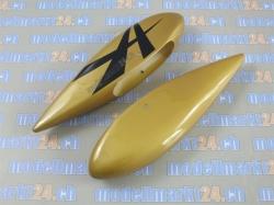 """Radschuhe Edge 540 V3 EX 76"""" Gold/Schwarz von AeroplusRC"""