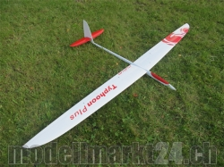 RCRCM E-Typhoon-Plus F3F Spw.2980mm CFK+ Weiss/Rot