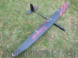 RCRCM E-Tomcat Spw.2.6m CFK+(Carbon) Schwarz/Rot mit Schut..