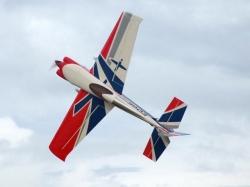 AeroPlusRC Edge 540 V3 120CC Spw. 2,83m Rot/Weiss/Blau