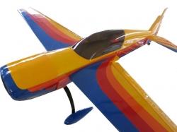 """AeroPlusRC Extra 300L 30CC Spw. 1.86m Gelb/Rosa """"Hawks of .."""