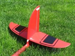 Ersatz HLW Links RCRCM E-Hornet/Hornet CFK/GFK Rot