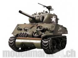 Panzer Sherman M4A3 105mm Howitzer BB 2.4 GHz 1/16 mit Sch..