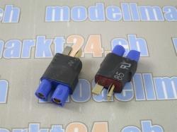 Adapter T-Plug Stecker auf EC3 Buchse 2Stk.