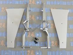 Fahrwerk Streben und Tür Set P-51D von E-Flite