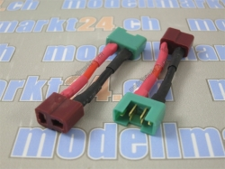 Adapter MPX Buchse auf T-Plug Buchse 2Stk.